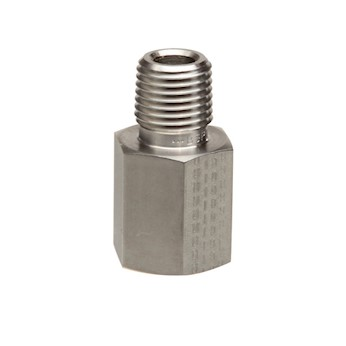 Parker Hannifin Threaded Adapter Stainless Steel 1 8