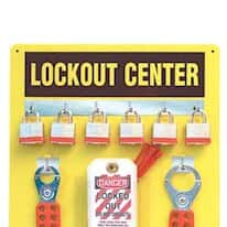 Lockout and Tagout Signs