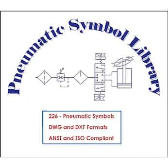 800 Pneumatic Symbol Library from Cole-Parmer United Kingdom
