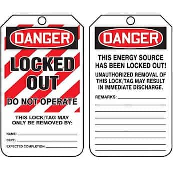 LegendDANGER Do Not Start 8-1//2 Length x 3-7//8 Width x 0.015 Thickness Pack of 5 Accuform MDT278PTM Accuform RP-Plastic Jumbo Tag LegendDANGER Do Not Start Red//black On White 8-1//2 Length x 3-7//8 Width x 0.015 Thickness