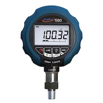 Additel ADT680W-25-GP500-PSI-N Digital Pressure Gauge w/Wireless RF  Transmitter, 0-500 psi