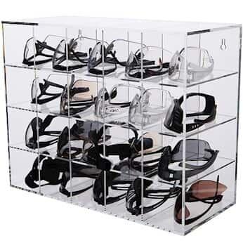 Advanced Displays In Plastic Safety Eyewear Organizer