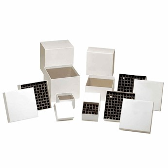 Argos Technologies R3016 Cardboard Cryobox, white, 5-1/4\
