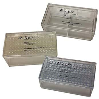 Argos Technologies Pipette Tip Box, Polycarbonate, 200ul, 128-Place