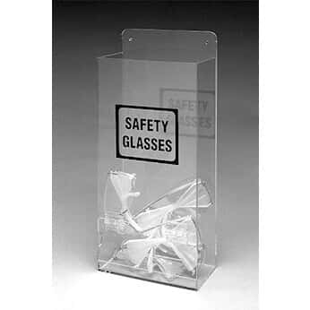 Brady Ehmvsd Tabletop Or Wall Mount Safety Goggles Gl Dispenser