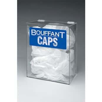 Brady Pd524e Bouffant Dispenser Clear Acyrlic Wall Mount Or Benchtop From Masterflex