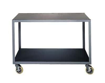 Gentil Brennan IP 2448 2BRK Mobile Table, Steel, 48