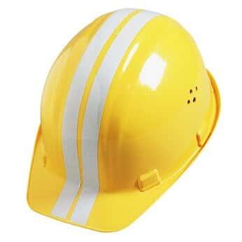Bullard ST2R YELLOW Hard Hat Reflective Stripes, Yellow from Masterflex