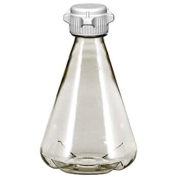 Cole-Parmer Shaker Flask, PC, sterile, baffle, vented, 2 L