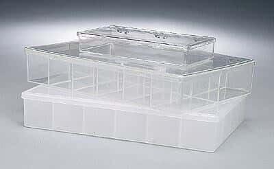 K Resin Storage Containers, 18 Sections, 1.6