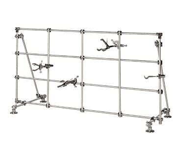 Cole-Parmer Medium Lab Frame, Aluminum, 48\