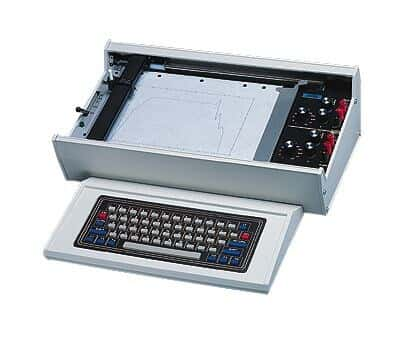 Keyboard for X-Y/Y-t Recorder/Plotters from Cole-Parmer