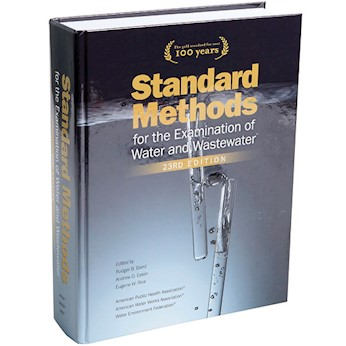 نتيجة بحث الصور عن ‪Standard Methods for the Examination of Water and Wastewater 23rd Edition‬‏