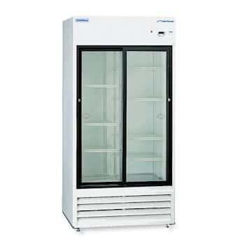 Cole Parmer Double Door Refrigerator With Sliding Thermopane Glass Door