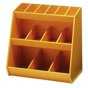 13-bin supply organizer, yellow from Cole-Parmer Canada