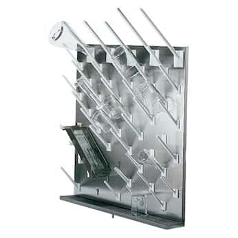 Modular Stainless Steel Drying Rack 50 White Pegs From