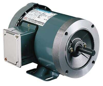 Single phase tefc rigid base motor 56c 1 5 hp 1800 rpm for 5 hp single phase motor