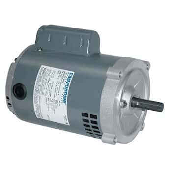 Single phase odp motor 56c 1 5 hp 1800 rpm 115 208 230 for 5 hp single phase motor