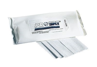 Contec PS-911, PROSAT Presaturated cleanroom wipes, 300/pack from ...