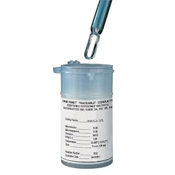 control company 4174 traceable one shot conductivity standard