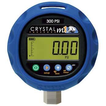 Crystal M1 300psi Digital Pressure Gauge 14 5 To 300 Psi
