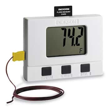 Dickson SM325 Datalogger, large display, temperature 2-channel