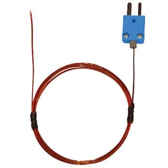 Type T Thermocouple Wire | Digi Sense Type T Kapton Insulated Probe Mini Connector Exposed