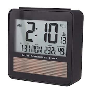 Digi-Sense Traceable® Radio-Controlled Atomic Desktop Digital Clock with  Calibration