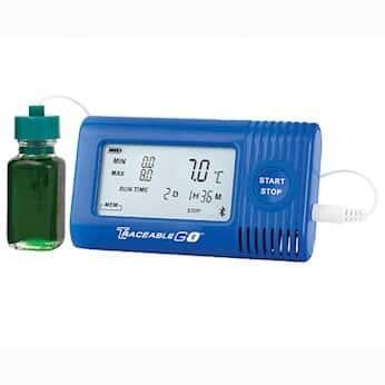 Digi-Sense Calibrated Data Logging Digital Thermometer 2 Bottle Probes