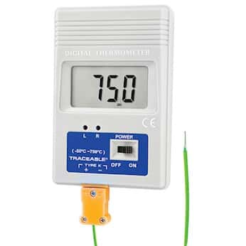 Digi Sense TraceableR Remote Monitoring Thermocouple Thermometer With Calibration Fahrenheit From Cole Parmer United Kingdom