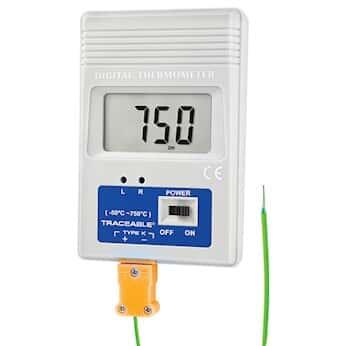 Digi-Sense Traceable® Remote-Monitoring Thermocouple Thermometer with  Calibration
