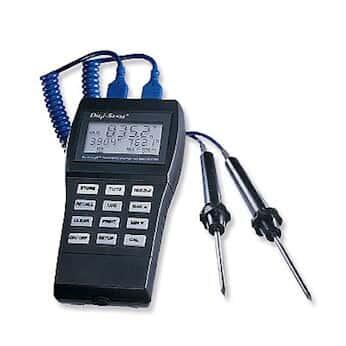 Digi Sense DuaLogR Thermocouple Thermometer From Masterflex