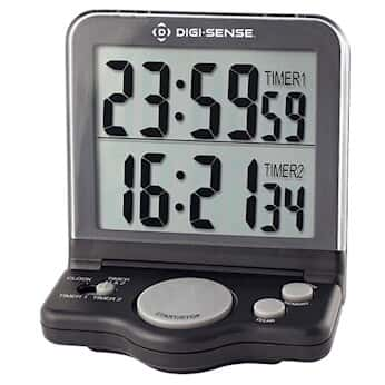 digi sense dual display 2 channel jumbo digit digital clock timer