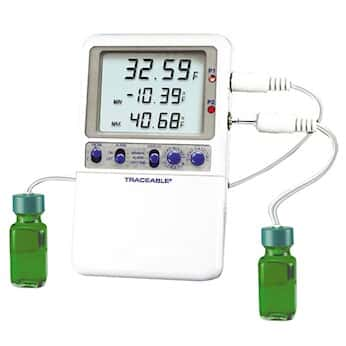 digi sense traceable high accuracy fridge freezer thermometer with