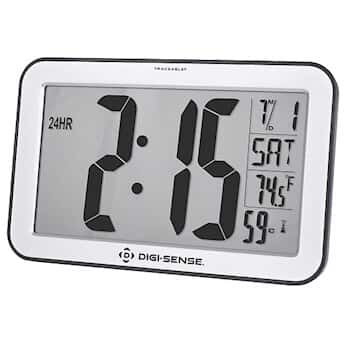 Digi Sense Traceable Jumbo Digit Atomic Wall Clock With Calibration Uk From Cole Parmer United Kingdom