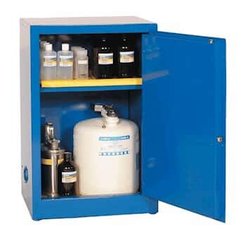 Eagle CRA 1925 Space Saver Acid Storage Cabinet, Manual Latching Door, 12  Gallon