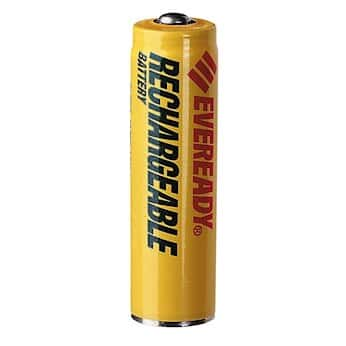 Energizer NH15BP 2 Eveready Rechargeable NiMH Batteries Size AA Pack Of
