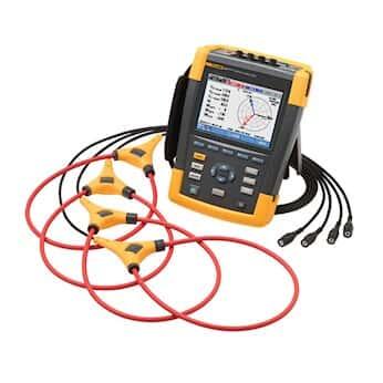Fluke 437-II 3-Phase 400 Hz Power Quality Kit