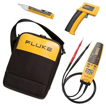 Fluke 62 T Pro 1AC II Electrical HVAC Kit Mini IR Thermometer Voltage Continuity Te From Cole Parmer India