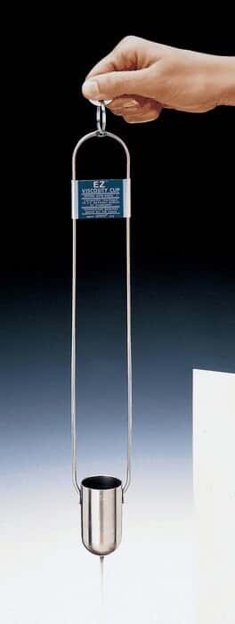 Gardco VI-VG-8203 Zahn Cup Dip Viscosity Cup No 3 Without Certificate 150-830 Centistokes Range 20-80 Seconds Range
