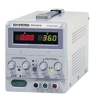 gw instek sps 3610 dc switching single output switching power supply