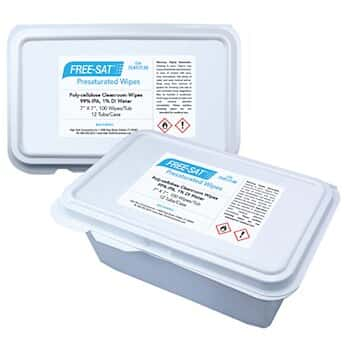 High-Tech Conversions FS-NT1-77 99 Cleanroom wipes, pre