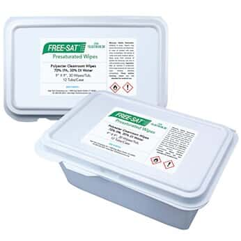 High-Tech Conversions FS-ULT70-99.30 Cleanroom wipes, pre ...