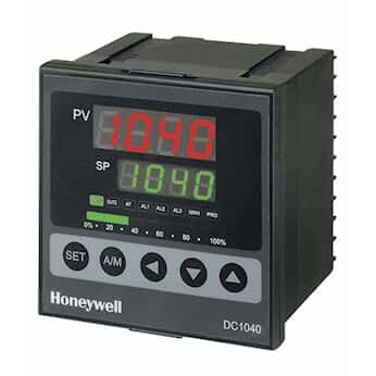 Honeywell DC1040CT-302-00B-E Temperature Controller, TC, 1/4-DIN, Current on