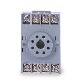 Idec SR6P-M08G Panel mount timer socket from Cole-Parmer Canada on