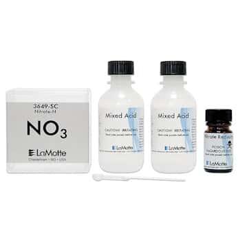 lamotte water monitoring kit instructions