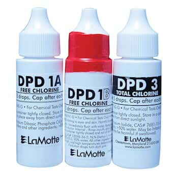 LaMotte 6739-G DPD Liquid Reagents, 3/Pack