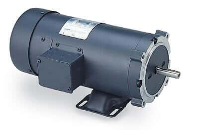 Leeson 098008 NEMA Type 56C-face TEFC motor, 1/2 hp, 1750 rpm, 180 VDC