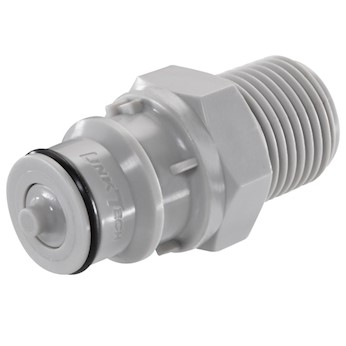 linktech 60pp disconnect insert pp 3 8 quot flow in line valved 1 2 quot npt m 25 pk from
