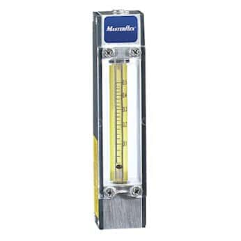 SS//Glass Float; for Air 100 mL//min Cole-Parmer 65-mm Direct Reading Flowmeter with Valve